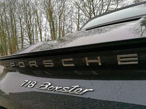 Porsche Boxster 718 sml