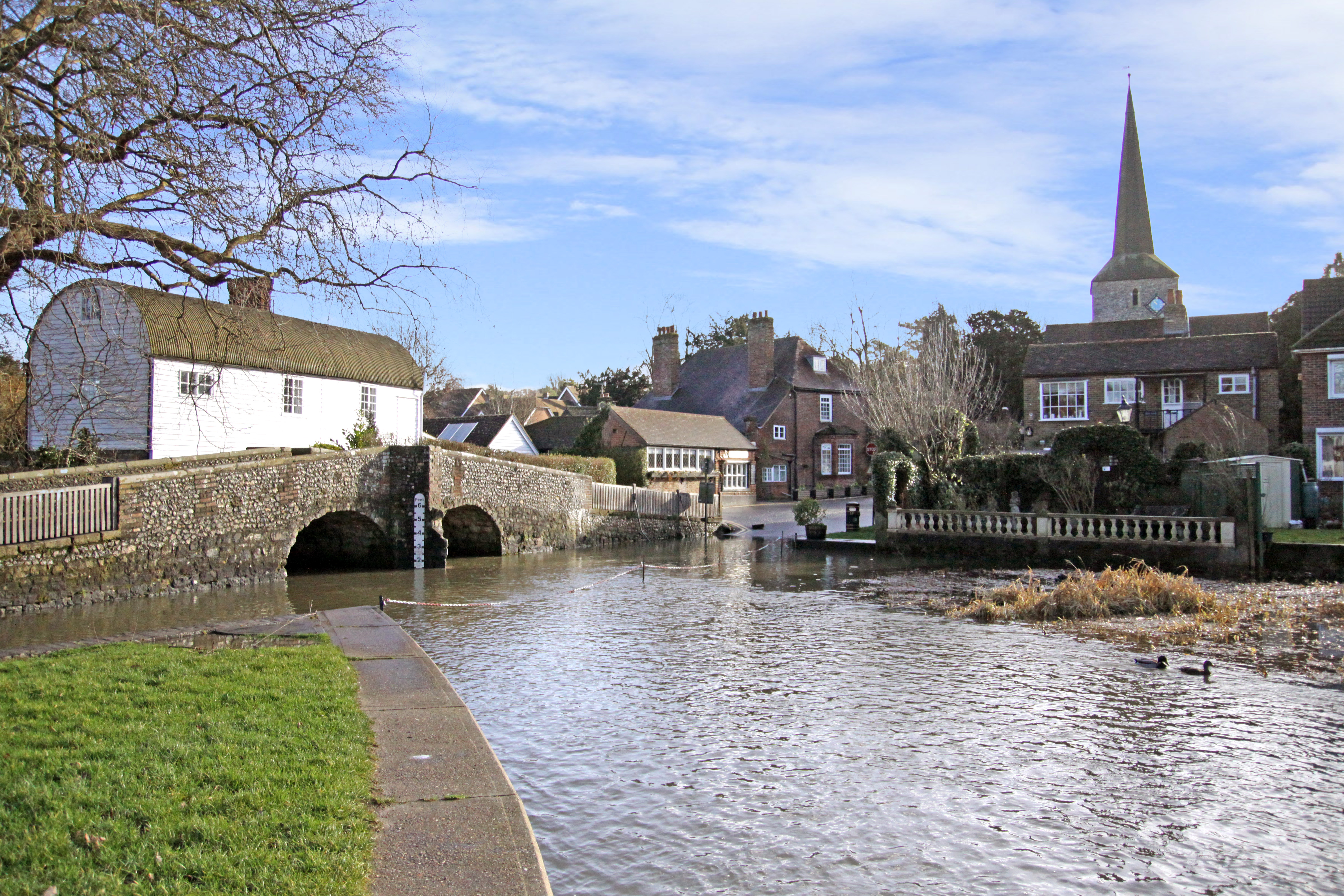 Eynsford: From Romans to modern rebels, an alluring village to